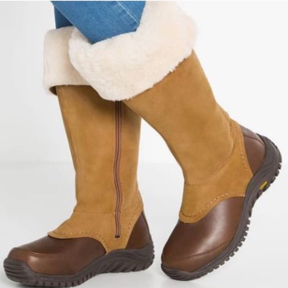 916f5d9f6c7 New Ugg Miko Chestnut Leather tall boots 🔥❤️🔥